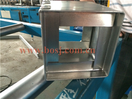 Aluminum Automatically Non Return Shut-off Damper for Air Conditioning Ventilation Roll Forming Making Machine Thailand pictures & photos