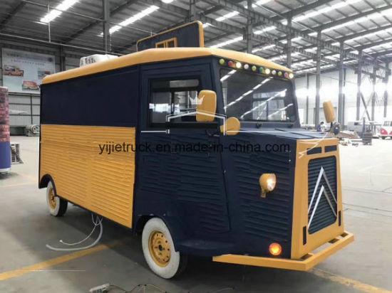 China Vintage Catering Van Fast Food Van For Sale China