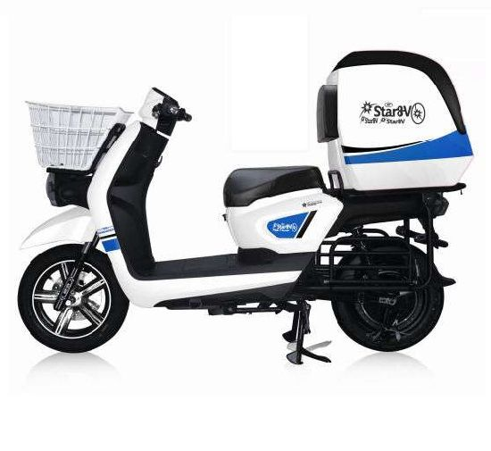 China Green Power Electric Scooter Motorcycle Cargo with Cabin