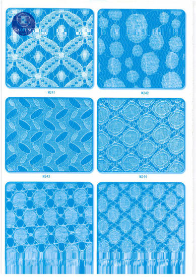 Non Elastic Lace Fabric for Clothing/Garment/Shoes/Bag/Case M073 (width: 8cm)