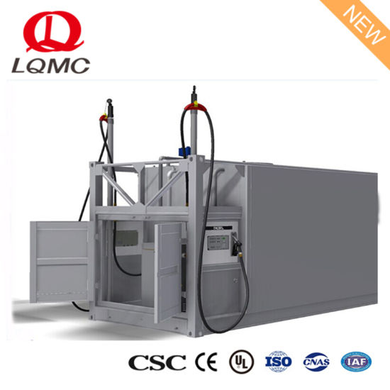 China ISO Tank Container Self Bunded Fuel Tank From Specialist