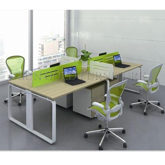 Prices Aluminum Parions Modern Office Workstation Cubicle Sz Wst731