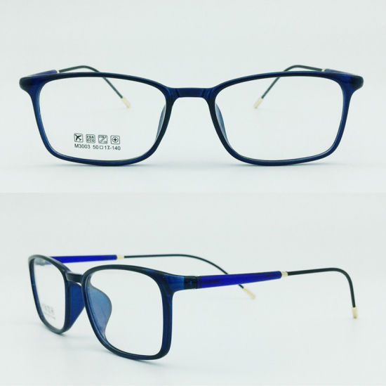 Factory Sell Super Light Half Plastic Steel Fashion New Design Optical Eyewear Frames pictures & photos