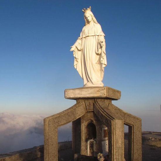 Stone Virgin Mary Garden Statues