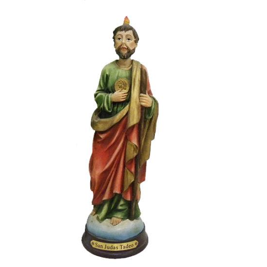 china new product polyresin catholic religious saint san judas tadeo