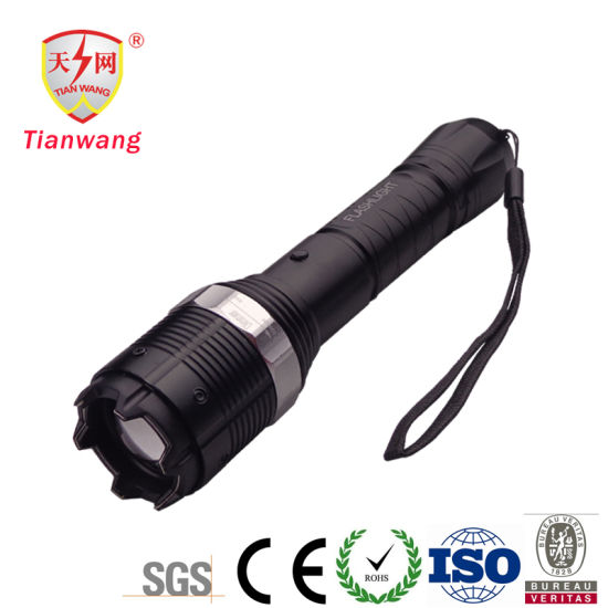 All Metal Electric Shock Torch Lamp Tazer Stun Guns