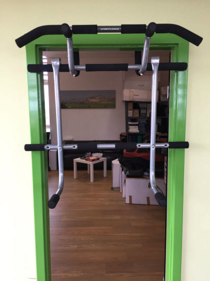 China home gym exercise door frame mounted workout pull up bar