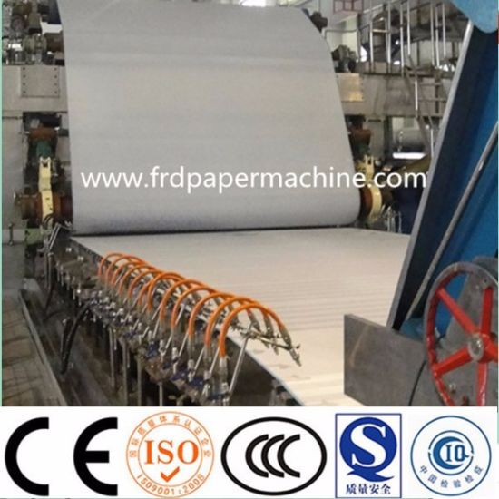 3200mm Fourdrinier Corrugated Fluting Kraft Liner A4 Copy Tissue Facial Culture Writing Printing Paper Making Machinery