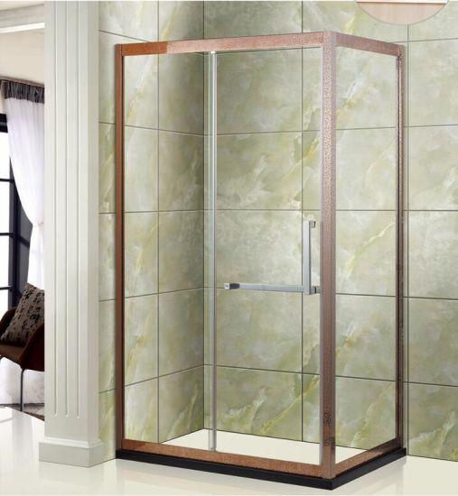 China Sanitary Ware Rectangle Aluminium Alloy Full-Frame