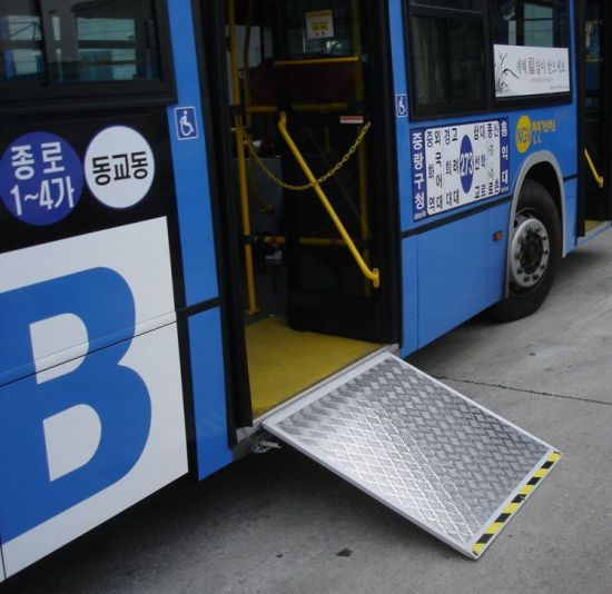 Ewr-L Electric Wheelchair Ramp for Bus with Ce Certificate