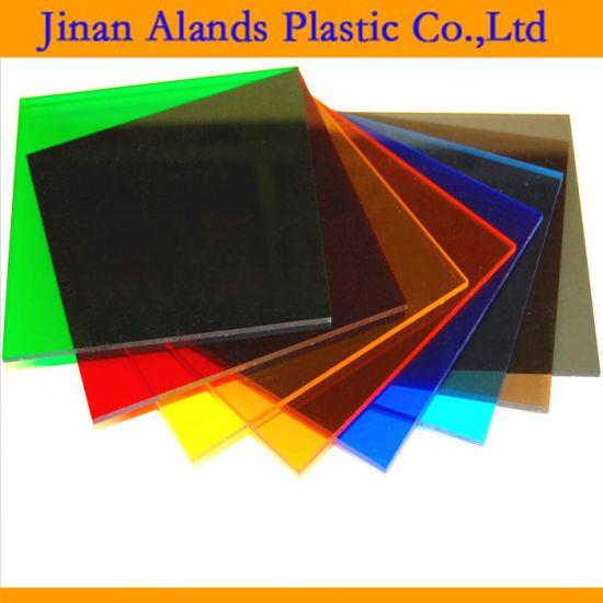 China Transparent Color Cast Acrylic Sheet 6X8 1850X2450mm - China ...