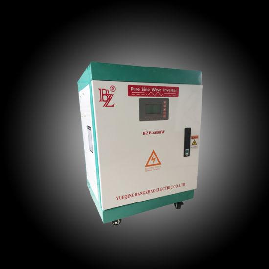 6000W 120VDC to 220/380VAC 3 Phase Solar Power Inverter