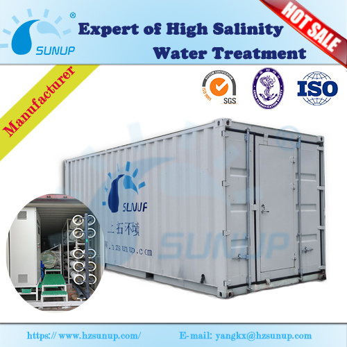 Sunup Aio-Sw10-M300-S-50e 300t Reverse Osmosis Seawater Desalination Plant pictures & photos