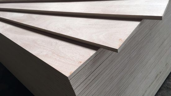 1220*2440mm Poplar Core Commercial Okoume Faced Plywood