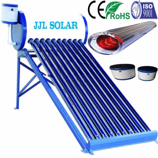 Low Pressure/Non-Pressurized Compact Solar Energy Hot Water Heater System (Solar Collector)