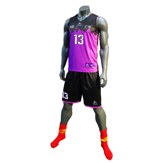 a0a660e11 Men′s Custom Basketball Jersey Sublimation Printing Basketball Uniforms Set  pictures   photos