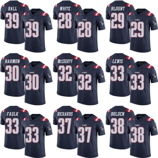 low priced 92c6a 7f3e8 Classical Patriots James White Legarrette Blount Duron Harmon Football  Jerseys