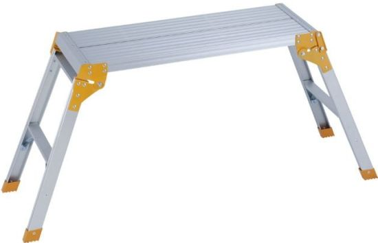 SGS Approved Aluminum Work Platform Ladder (JK-202)