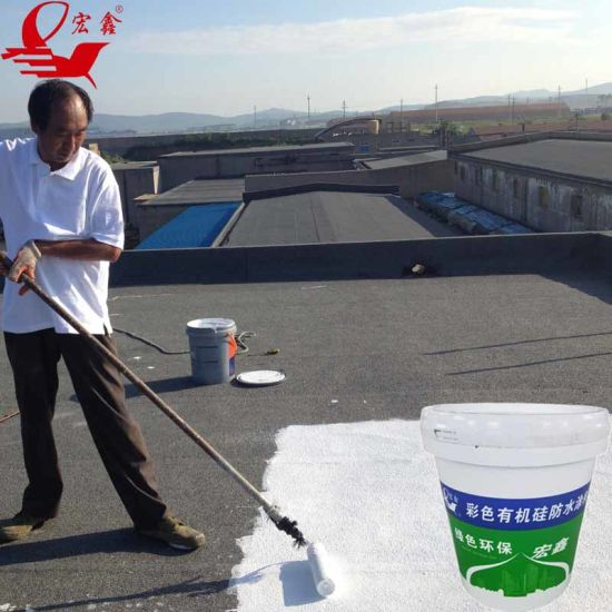 Roof Basement Swimming Pool Waterproof Silicone Waterproof Coating