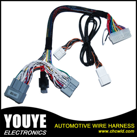 china 3 pin connector cable manufacturer produce automotive engine rh chcwld en made in china com automotive wire harness connectors car stereo wiring harness connectors