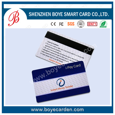 125kHz Contactless PVC VIP Smart Card with Magnetic Strip pictures & photos