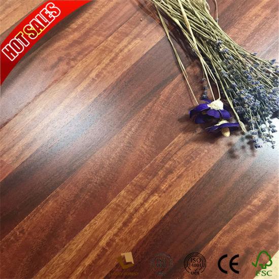 China 12mm Fishbone Hdf Laminate Flooring Waterproof China