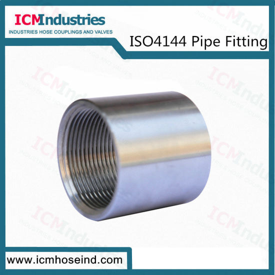 Stainless Steel150lb Coupling Threaded Fittings/ISO 4144 Pipe Fitting