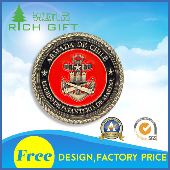 Supply Custom Souvenir Gold and Silver Coins for Collector pictures & photos