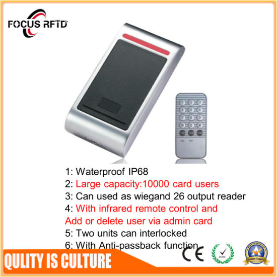 IC /ID Access Control Key Tag Smart Card Reader Touch Pad RFID Card Reader