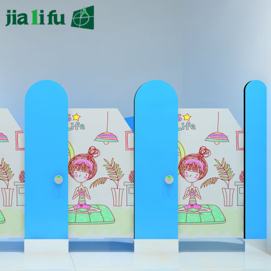 Jialifu HPL Solid Phenolic Panel Children Shower Cubicles pictures & photos
