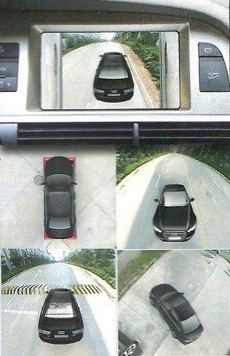 4 Camera 360 Degree Surround View System of Car