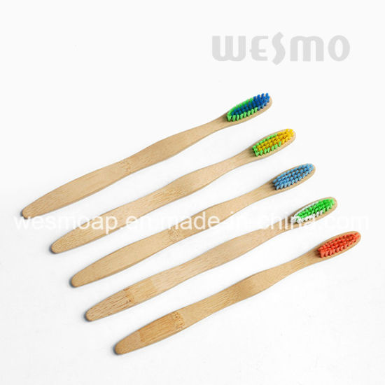 Eco-Friendly Bamboo Toothbrush (WBB0871D) pictures & photos