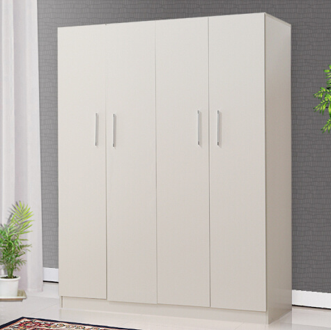 China Bedroom Furniture Customized Wooden 4 Door Wardrobe China
