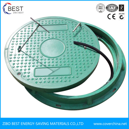 Waterproof SMC Composite Sewer Manhole Cover with Gasket pictures & photos