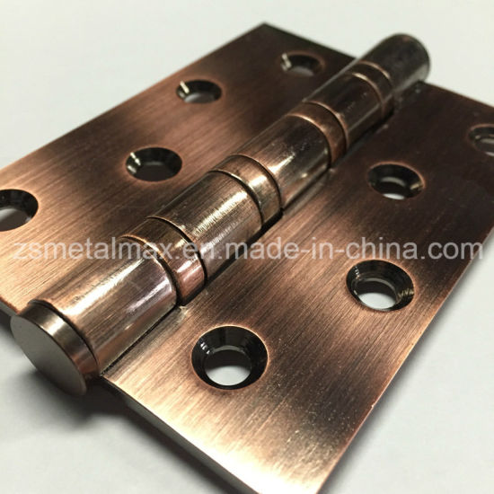 Stainless Steel 4 Inch 4 Ball Bearing Hinge (114030) pictures & photos