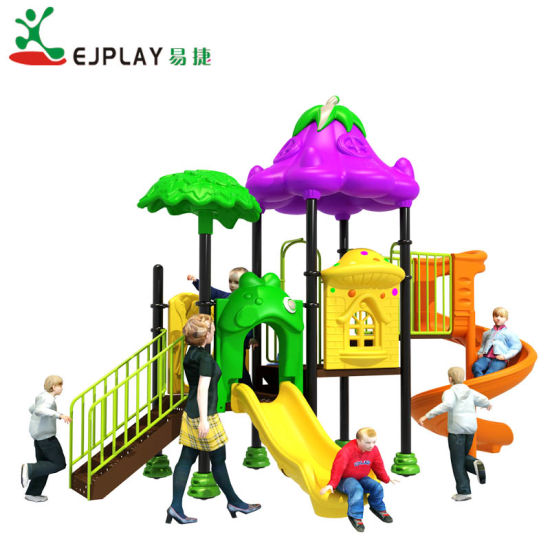 Vegetable Garden Theme Outdoor Playground for Kids Fitness and Exercise
