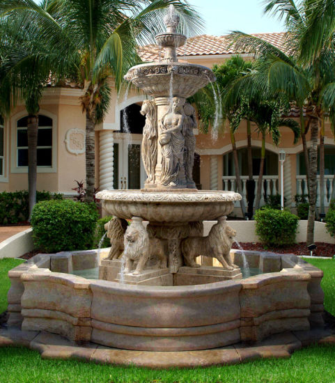 Hot Selling Beautiful Stone Carved Luxury Outdoor Or Indoor Garden Trevi Marble Water Fountains China Garden Fountain And Marble Fountain Price Made In China Com