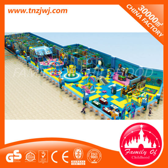 Manufacturer Children Ocean Maze Indoor Playground Equipment for Sale pictures & photos