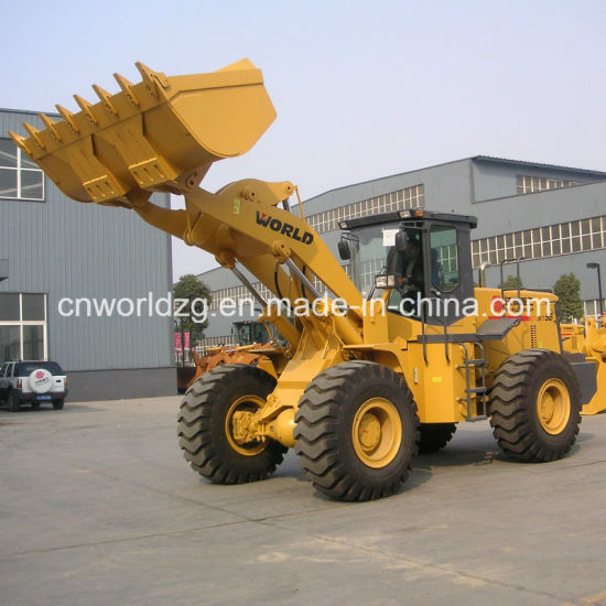 Stone Quarry Loader with Rock Bucket (W156) pictures & photos
