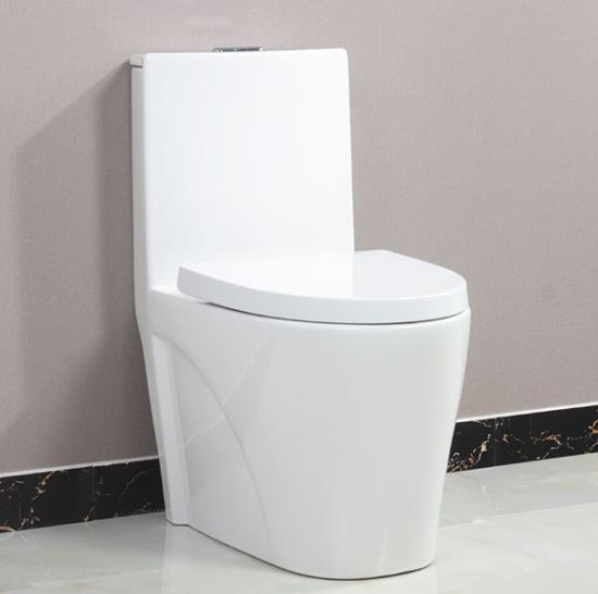 Sanitary Ware Bathroom Ceramic Wc One Piece Toilet Bowl From Chaozhou (JY1018) pictures & photos