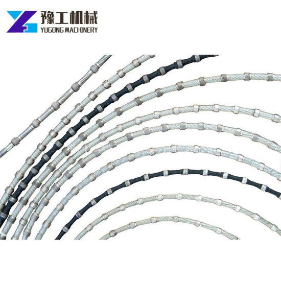 China Quality Special Hydraulic Diamond Wire Saw Blade for Stone ...