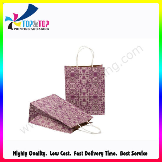 Best Price Gift Packaging Paper Printed Shopping Carrier Gift Bags pictures & photos