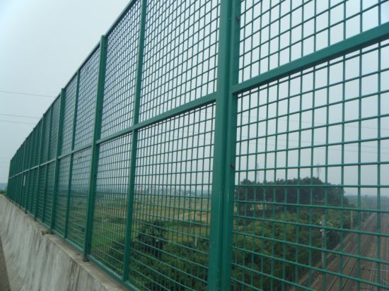 Security Traffic Wire Netting Mess Fence
