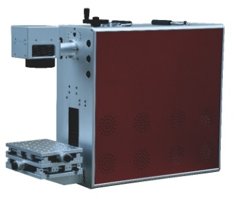 Motor Portable Optical Fiber Laser Marking Cabinet with Good Quality