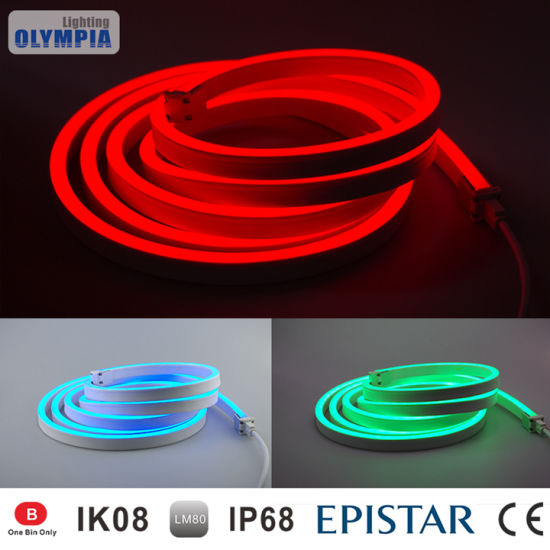 China underwater ip68 color changing led neon flex strip rope light underwater ip68 color changing led neon flex strip rope light aloadofball Image collections