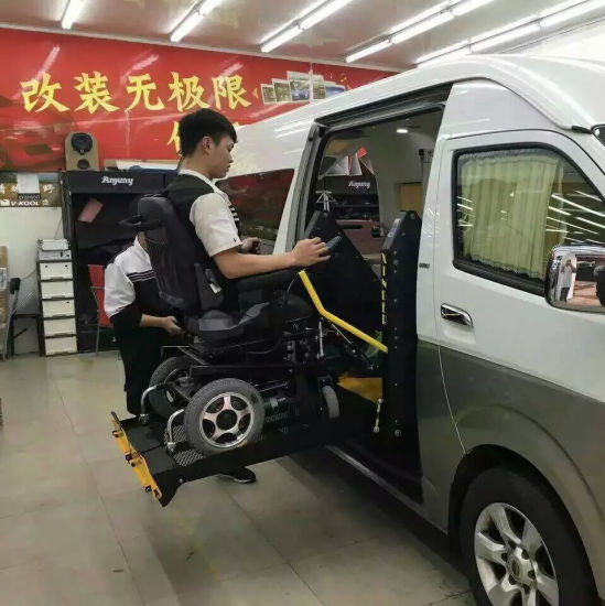 Wheelchair Lift For Car >> China Hydraulic Wheelchair Car Lift For Disabled Passenger