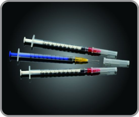 Insulin Syringe with Detached Needle