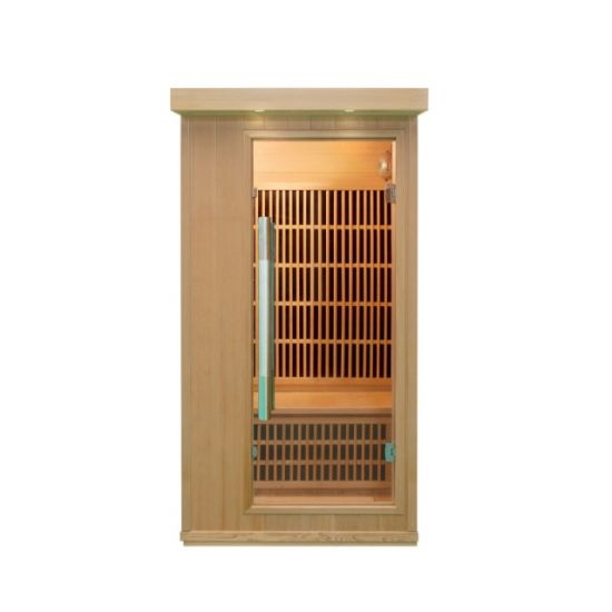 Home Sauna 1 Person Far Infrared Sauna Room Qd-Bt1 pictures & photos