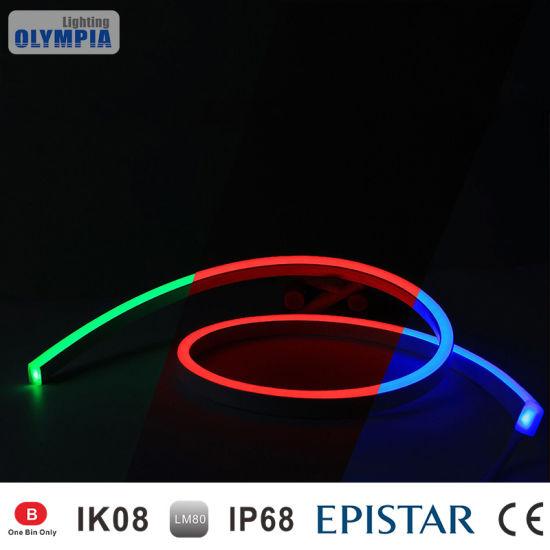 China pvc rgb color changing flex led neon rope light china color pvc rgb color changing flex led neon rope light aloadofball Image collections