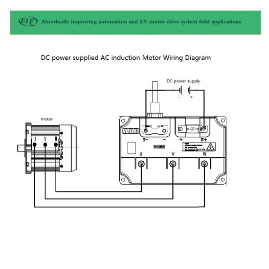 China AC Asynchronous Motor 7.5kw Controller 48V 400A as ... on